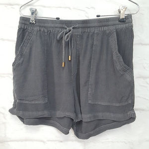 Anthropologie Hei Hei Drawstring Shorts Grey S